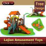 En1176 Test Approved Popular Style em Europa Plastic Outdoor Playground