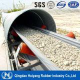Nastro trasportatore di gomma resistente di trasporto a calce sodata dell'alcali