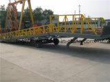 6tons - 15tonsトラックのローディングのための重い容量の調節可能な油圧ヤードの安い傾斜路