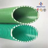 Mangueira de sucção de vácuo de PVC reforçada em espiral para bomba agrícola