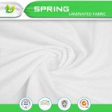 Protector impermeable 100% de Pad&Mattress del colchón del bucle de Terry del poliester para las materias textiles caseras