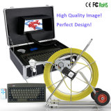 Caméra d'inspection à tuyaux imperméable à chaud avec câble de 80-160 m