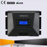 新しいデザインFangpusun MPPT100/30d LCDの表示12V 24V MPPTの太陽料金のコントローラ30A