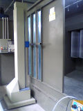 Автоматическая будочка краски порошка циклончика
