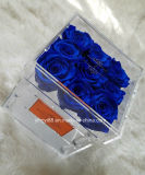 Горячая продавая коробка подарка коробки цветка акриловой коробки Rose кристаллический