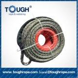 Corda dell'argano di Kevlar della corda del veicolo della fibra di UHMWPE