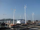 A turbina de vento 3kw nova do Fn com baixa velocidade do vento de cinco lâminas começa acima e saída eficiente elevada