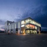 O armazém En1090 de aço Prefab padrão/verteu o edifício para África