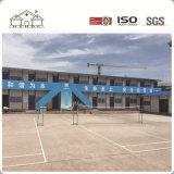 Nuevo almacén de Fujian China del diseño de la casa portable rápida, casa barata de la casa prefabricada de la ISO