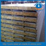 Feuerfeste Stahlfelsen-Wolle-Zwischenlage-Panels für Wand/Dach