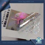 Etiqueta aleatória do holograma do código de barras