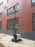 광업 4X400W 건축 이동할 수 있는 비상등 탑 발전기
