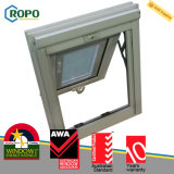 Toldo vitrificado dobro australiano Windows de UPVC com cortinas