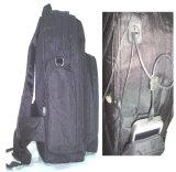 PVC полиэфира 600d подпирая водоустойчивый Backpack (HQB59)