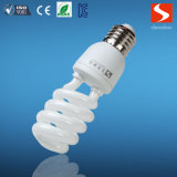Meia lâmpada energy-saving do T3 23W da espiral, bulbos de CFL, E26/E12
