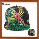 O Snapback máximo liso floral feito sob encomenda tampa 6 chapéus do Snapback do painel