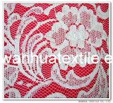 Tela de algodão quente da forma da venda 2016 para o laço do vestuário
