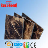 PVDF PET-ACP Aluminium Wall Panel Decorative Material Buildding Material (RCB 2015-N34)