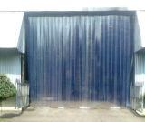 PVC Hoja suave, PVC Hoja de cortina, cortina de PVC de la raya