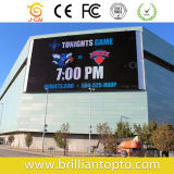 Outdoor Advertizing와 Video Display (P10 DIP)를 위한 LED Screen