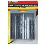 T- Shape Jig Saw Blade Set 10PCS Decoration Hardware