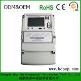 Tester elettrico polifase astuto pagato anticipatamente di KWH