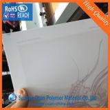光沢オフセット印刷のための白いPVC堅いフィルム