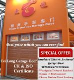 Porta secional aérea da garagem - certificado do CE da União Europeia