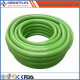 Mangueira flexível reforçada trançada PVC da água do jardim