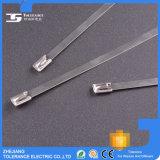 Ss304, tipo fascetta ferma-cavo dell'acciaio inossidabile, fascetta ferma-cavo della serratura della sfera Ss316