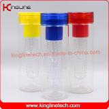 760ml BPA освобождают изготовленный на заказ бутылку Infuser плодоовощ Tritan с внутренностью фильтра пробки (KL-7082)