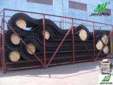 Nastro trasportatore di gomma ondulato di alto angolo del muro laterale