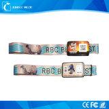 Изготовленный на заказ Wristband NFC с печатание передачи тепла (JW-W011)