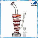 Bw106 Waterpijp van de Waterpijp van het Glas van de Pijp van het Glas van de Pijp van het Glas de Rokende