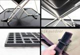 屋外のキャンプの台所用品のシーザーのハードウェアの折る鋼鉄携帯用木炭BBQのグリル、媒体