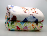 Tapis de couvertures de maneton d'ouatine/couverture micro de vison