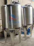 Acier inoxydable fond conique réservoir de stockage