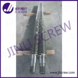 Pipe Extrusionのための円錐Twin Screw Barrel