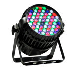 54PCS3w RGBW Outdoor IP65 Waterproof Zoom Stage LED PAR Can Light