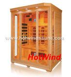 Sitio de madera de la sauna de la sauna del infrarrojo lejano 2016 para 3 personas (SEK-C3)