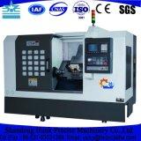 Präzisions-Metall, das horizontale CNC-Drehbank für Verkauf maschinell bearbeitet