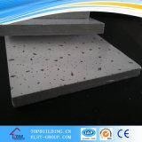 Placa de teto de fibra mineral acústica para teto