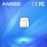 De slimme Draadloze Sensor van de Deur voor het Systeem van het Alarm, Gesteunde batterij