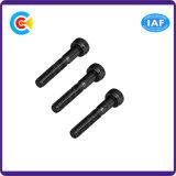 Formaggio zigrinato dello zinco di esagono nero del acciaio al carbonio M12/vite capa cilindrica