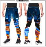 Calças justas elegantes do elástico do roupa interior da ginástica confortável Anti-UV