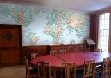 Murales de encargo del papel pintado para el hogar, oficina, murales respetuosos del medio ambiente de la pared