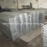 構築のための安全な足場の金属のプラットホーム