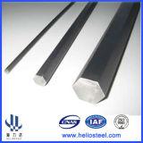 Staaf van het Staal van Ss400 S20c S45c A36 SAE1020 de Koudgetrokken Hexagonale