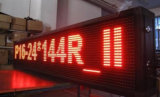 Красная напольная матрица знака P10 32X16 магазина знака окна панели модуля индикации СИД Programmable