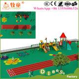 طفلة خارجيّ [بر] مدرسة ملعب, روضة الأطفال ملعب لعب لأنّ أطفال